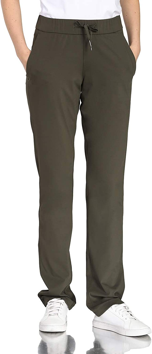 Hawthorn Athletic All Day Mid Rise Straight Leg Pants for Tall Women