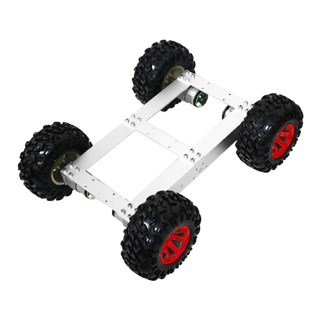 Almencla DIYの4WD輪駆動ダブルデッキスマートロボット車シャーシ スマートカー おもちゃの車 赤い輪 3色選択可能 - 赤い輪 Almencla B07PQRQV2L スマートカー 赤い輪, 西新オレンジストア:fa661698 --- 2017.goldenesbrett.net