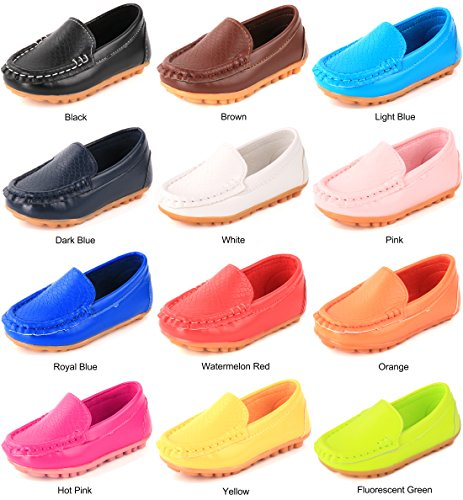 Femizee Casual Toddler Kid Boys Girls Loafers Shoes