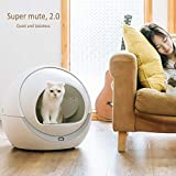 XLOO Scoop Free Automatic Self-Cleaning Cat Litter