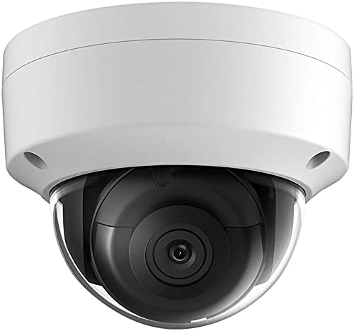 8MP Security Poe IP Camera,OEM DS-2CD2185FWD-I,Compatible with Hikvision,4K UltraHD Outdoor Network Surveillance Camera Dome, 99ft IR Night Vision, Micro SD Card Slot,H.265 ,IP67,ONVIF,IK10