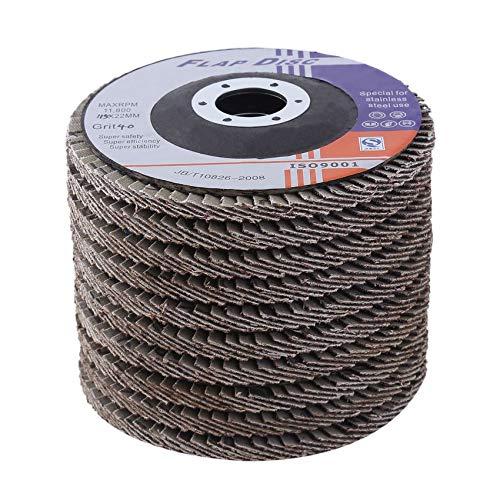 50mm Wet and Dry Sanding Discs 2 inch DEERFOS Sandpaper Pads Film Grit 40-3000