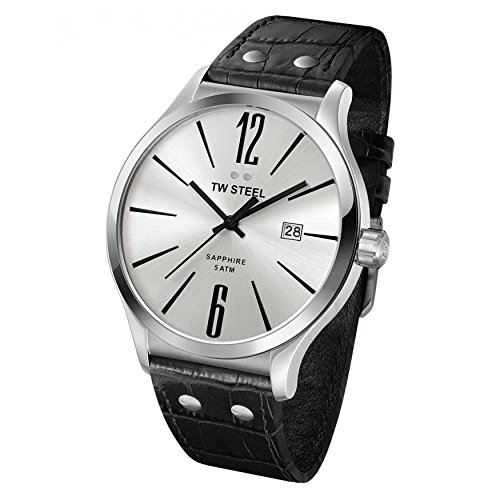 Mens-TW-Steel-Slimline-Silver-Dial-and-Black-Leather-Watch
