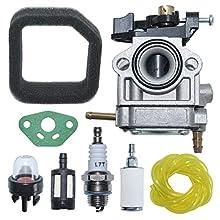 AUMEL Carburetor Air Fuel Filter Line Gasket Kit for Toro 51930 51932 51934 51930B 51932B Trimmer Model 3074502 9071103