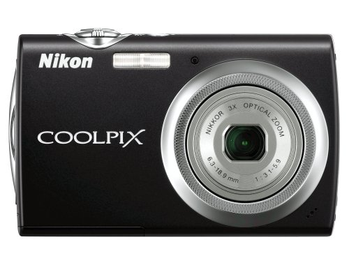Nikon Coolpix S230 10MP Digital Camera with 3x Optical Zoom and 3 inch Touch Panel LCD (Jet - Nyc Glasses Optical