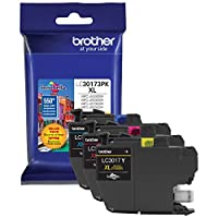 Brother Printer LC30173PK High Yield XL 3 Pack Ink Cartridges- 1 Ea: Cyan/Magenta/Yellow Ink from Brother Printer