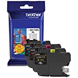 Office Products : Brother Printer LC30173PK High Yield XL 3 Pack Ink Cartridges- 1 Ea: Cyan/Magenta/Yellow Ink