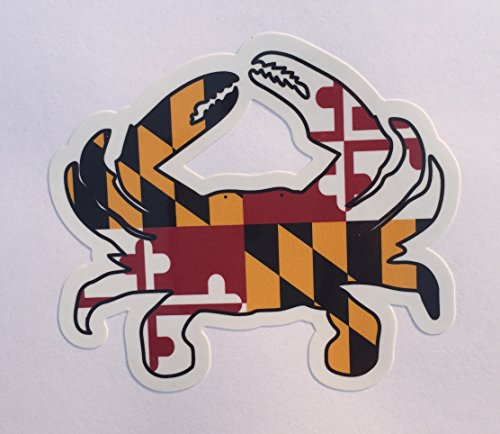 Maryland FLAG Refrigerator Outdoor Sticker product image