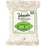 Veeda Feminine Wipes, 6 Count