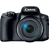 Canon PowerShot SX70 HS 20.3 MP Digital Camera with 65x Optical Zoom & 4K Recording