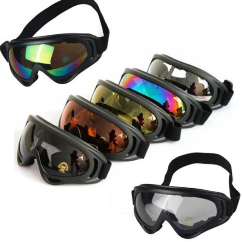 Sports Ski Snowboard Snowmobile Snow Cruiser Motorcycle Goggles Cycling Eyewear (Naked Steampunk Women)