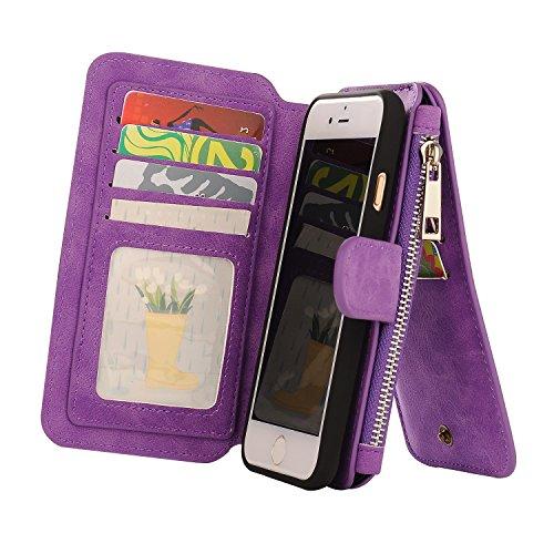 Firefish Multifunction Premium Leather Purple
