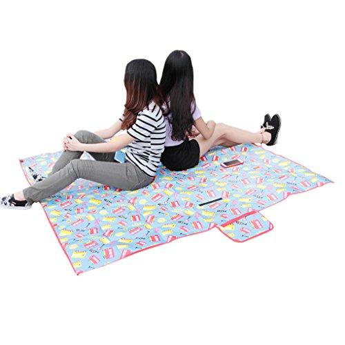 Multi Purpose Waterproof Picnic Blanket Rug Baby Crawl Mat