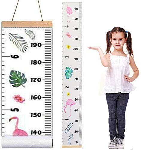 Baby Growth Chart,Canvas Height Measurement Ruler,Hanging Ruler Wall Decor Ruler for Kids Wall Decor Baby Nursery Decoration,Great Baby Shower Christmas Gift 79