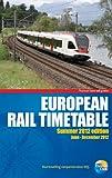 European Rail Timetable Summer 2012
