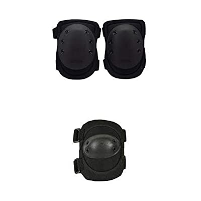 BLACKHAWK Advanced Tactical Knee Pads V.2 - Black and BLACKHAWK Advanced Tactical Elbow Pads v.2 - Black : Sports & Outdoors