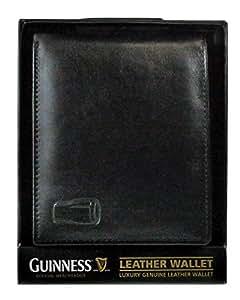 Billetera De Cuero De Pinta De Guinness