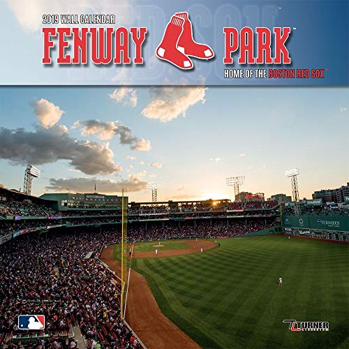2019 Fenway Park Boston Wall Calendar, Boston Red Sox by Turner Licensing