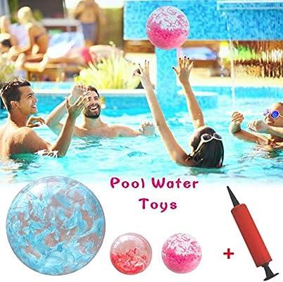 boastvi - Balón de Agua Hinchable de balón de Playa, Juguete ...