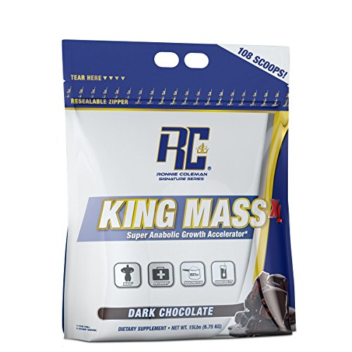Ronnie Coleman Signature Series King Mass XL Dark Chocolate 15 lbs