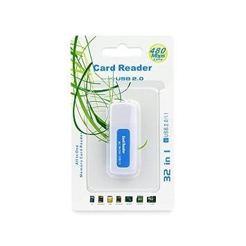 FELIXMANIA Lector Tarjetas SD/SDHC/MMC/RS-MMC/Mini-SD/Micro-SD/TF ...