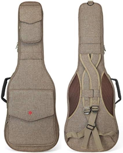 YXIAOn Funda de guitarra para 41 pulgadas, funda de guitarra ...