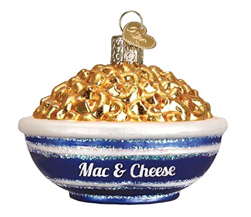 Old World Christmas Mac and Cheese Glass Blown ()