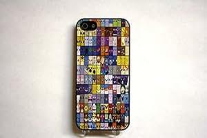 (155bi5) Original 151 Pokemon Apple iPhone 5 Black Case Minimal Minimalist Pokemon