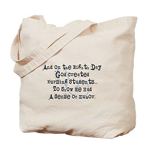 CafePress–Octavo Día estudiantes de enfermería–Gamuza de bolsa de lona bolsa, bolsa de la compra