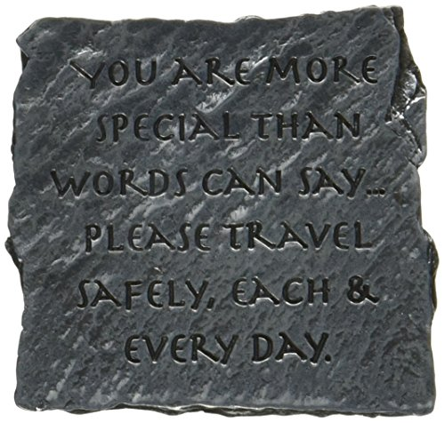 Cathedral Art KVC253 Slate Visor Clip, You are More Special, 2-Inch (Auto Visor Clip)