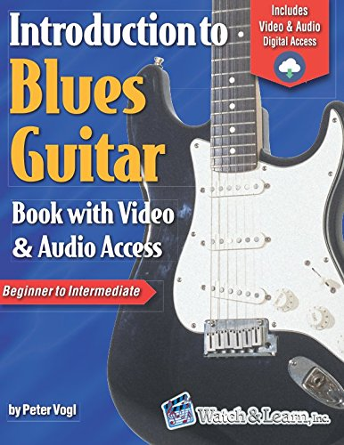 Introduction to Blues Guitar Book with Video & Audio Access