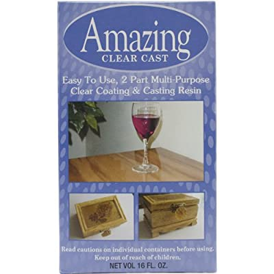 Alumilite Amazing Clear Cast 16 oz by Amazing Mold Putty