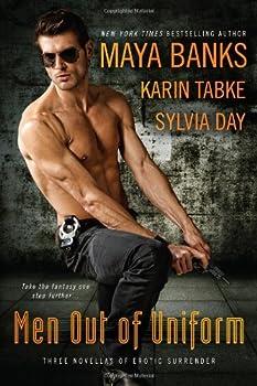 Men Out of Uniform (Three Novellas of Erotic Surrender) 0425243168 Book Cover