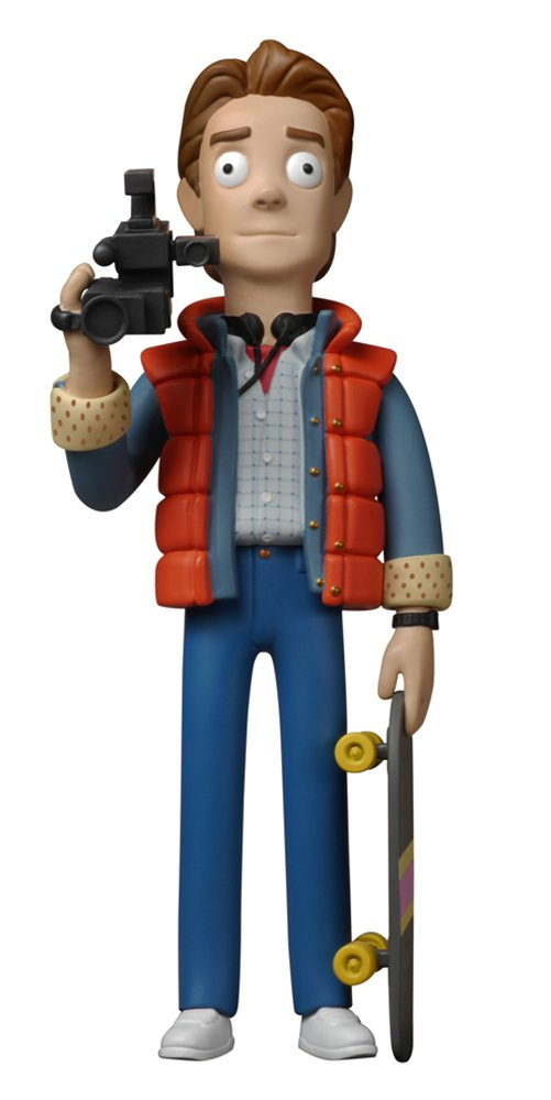 BACK TO THE FUTURE Marty Mcfly vinyl idolz 8 inch figure
