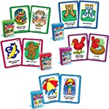 "Ask and Answer ""WH"" Questions Five Card Decks Combo - Super Duper Educational Learning Toy for Kids"