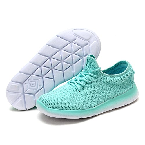 Fashion Mint (DREAM PAIRS Little Kid 170803K Mint Fashion Running Shoes Size 2 M US Little Kid)