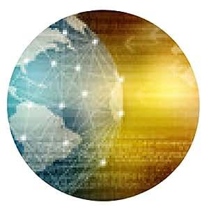 alfombrilla de ratón El mejor concepto del Internet de asunto global de la serie de conceptos - ronda - 20cm