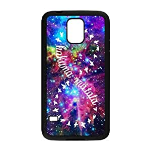 Hakuna Matata Rubber TPU Protective Cover Case For Samsung Galaxy S5 SV