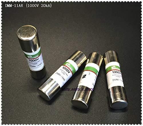Davitu 5-15 pcs/Lot 10 x 38mm DMM-11AR,DMM-B-11AR 11A 1000V 20kA Fast-Acting Ceramics Fuse For Multimeter Brand New - (AMP: 11AR x5pcs)