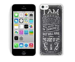 5c cases,iphone 5c case,phone cases 5c-CiCi Mode Christian Jesus Bible Verse Soft Plastic Case Iphone 5c cases White Cover