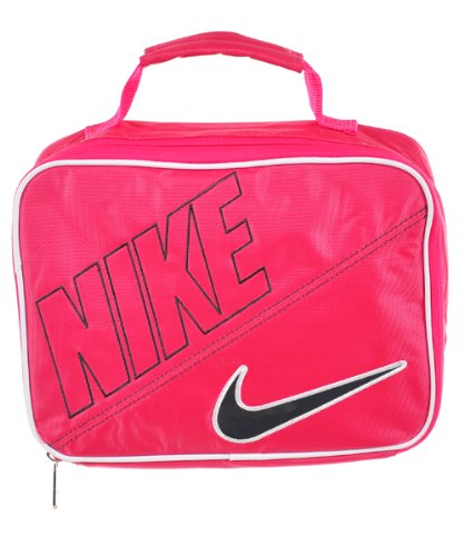 0ad7b99afd57 Image Unavailable. Image not available for. Color  Nike Girls Insulated  Lunch Box in Pink