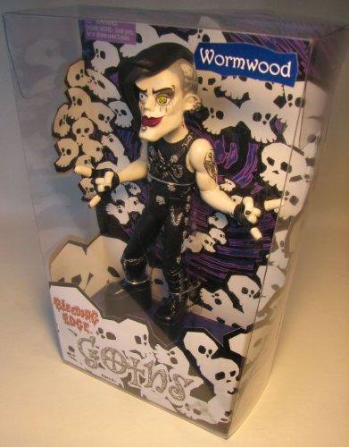 blck sht Bleeding Edge Goths 8 inch Series 1 Wormwood