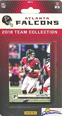 Atlanta Falcons 2018 Panini NFL Football Factory Sealed Limited Edition 13  Card Complete Team Set Matt 7e58de14e
