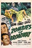 Zombies on Broadway POSTER Movie (27 x 40 Inches - 69cm x 102cm) (1945)