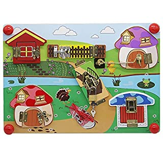 Wooden Latches Board