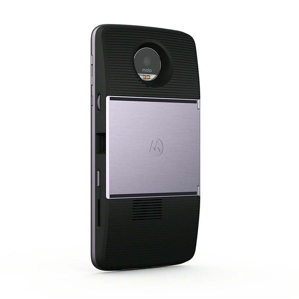 Lenovo Moto Mod – Proyector Insta-Share (Tamaño de la Imagen hasta 70, Brillo 50 lúmenes), Color Negro