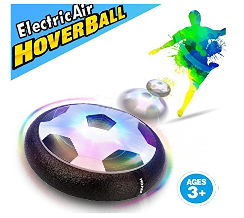 Children's Air Force Football Interactive Football Toys Sports Toys Indoor Outdoor Hovering Ball Games with Bubble Bumpers and LED Lights, Mini Screwdriver Boys and Girls for Birthday and Holiday Gift