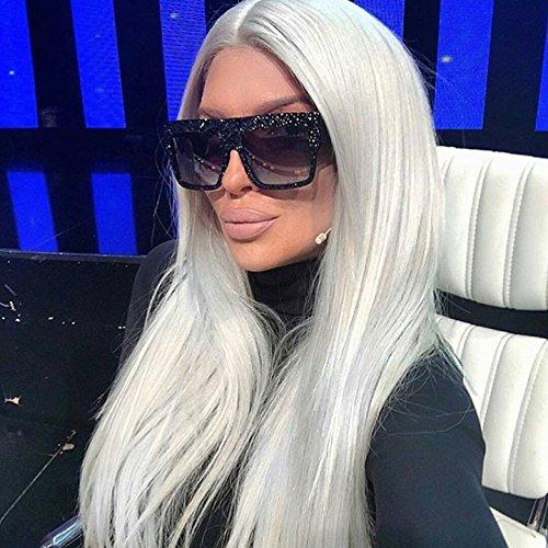 de Black Dim Gafas unisex hombre Dim sol de para gran Aprigy Gray estrellas diseño de Gray con tamaño Clear Bqa8nTxw