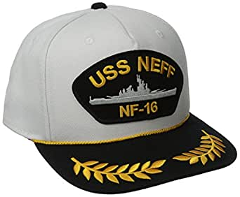 neff Men's Uss Hat, White, One Size
