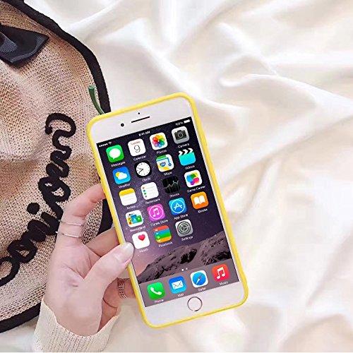 Phone Taschen & Schalen Für iPhone 6 u. 6s, lustige 3D Simulation Pfeffer TPU schützende Fall-rückseitige Abdeckung ( Color : Blue )